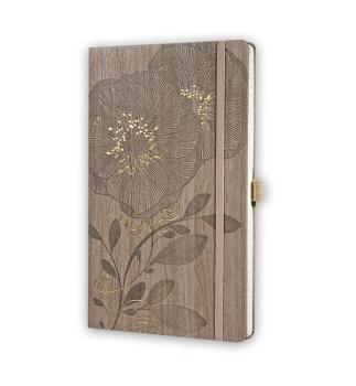 Notitieboek met bloemen 1